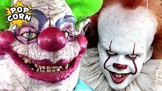 ТОП Клоунов убийц в ужастиках страшнее Пеннивайза / ОНО и страшные клоуны / Фильмы на Хэллоуин