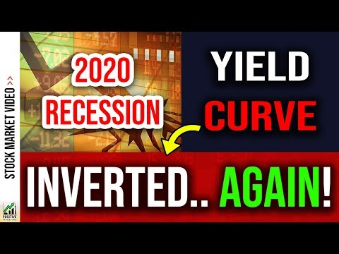 The Yield Curve is Now Predicting a Recession! 📈