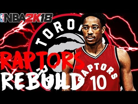DRAFTING A STUD!! REBUILDING THE TORONTO RAPTORS!! NBA 2K18 MY LEAGUE