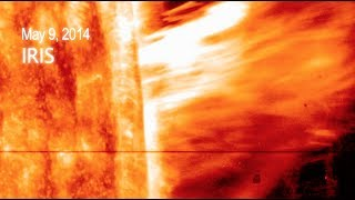 NASA | A First for IRIS: Observing a Gigantic Solar Eruption