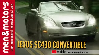 Review: Lexus SC430 Convertible (2001)
