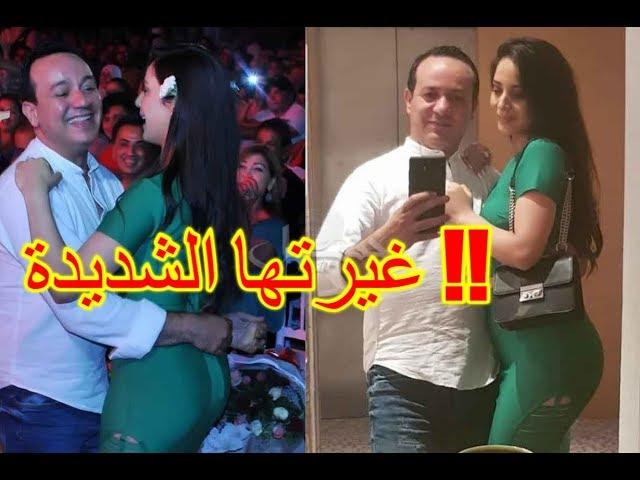 """خطيبة علاء الشابّي تصنع """"البوز"""" بسبب غيرتها الشديدة !!"""
