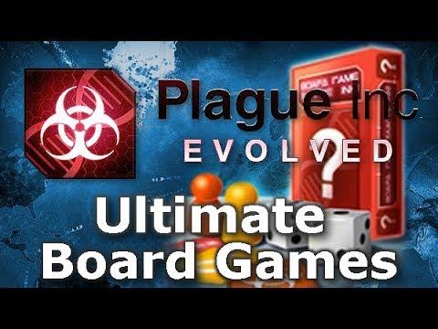 Plague Inc: Official Scenarios - Ultimate Board Games (Mega Brutal)