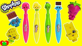 Shopkins New Clicker Pens, Pencil Toppers, and More