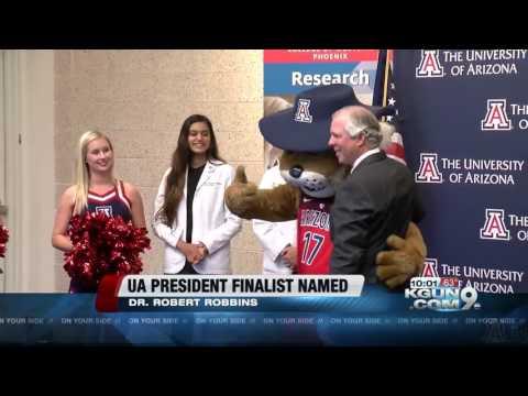 Regents announce Dr. Robert Clayton Robbins as UA president finalist