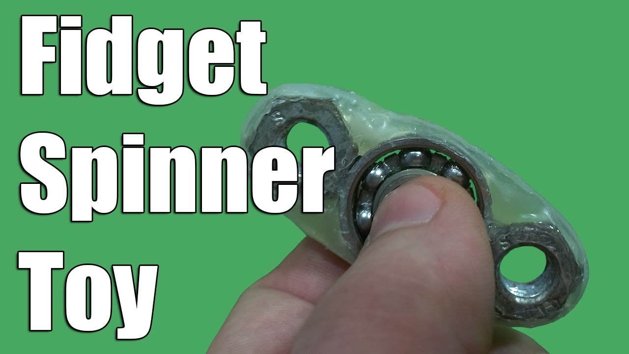 How to Make a - Hand Spinner - Fidget Toy - easy way