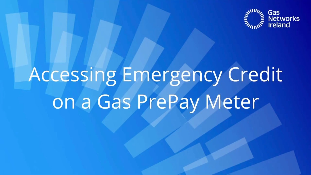Accessing Emergency Credit On A Prepay Gas Meter Youtube