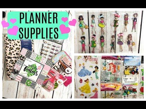 Hobby Lobby Haul | Planner Supplies Haul