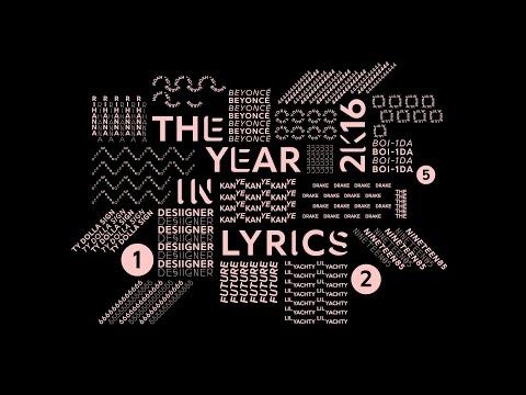 Genius Presents: The Year in Lyrics 2016