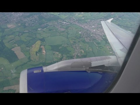 British Airways A320 Glasgow to London Heathrow *Full Flight*
