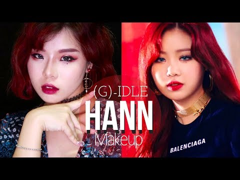 (𝐆)-𝐈𝐃𝐋𝐄 : 𝐇𝐀𝐍𝐍 | Soo Jin Inspired Makeup Look (feat. Sigma)