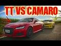 AUDI TT (307CV) VS CAMARO (415CV)