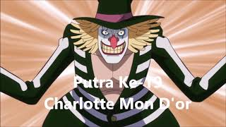 Daftar Urutan Anak-Anak BIg Mom (One Piece)