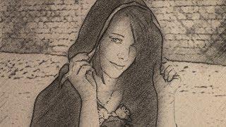 Превращаем фотографию в карандашный рисунок в фотошопе