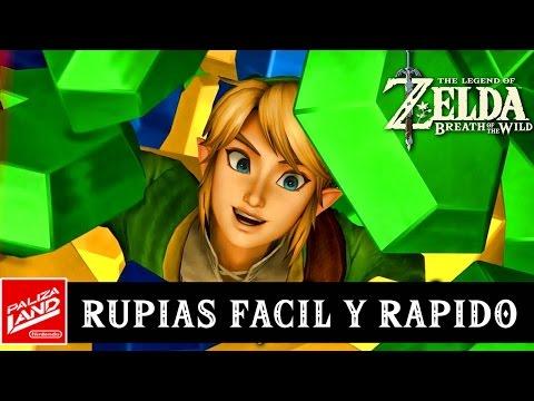 Cómo conseguir RUPIAS FÁCIL - GUIA The Legend of Zelda Breath of the Wild
