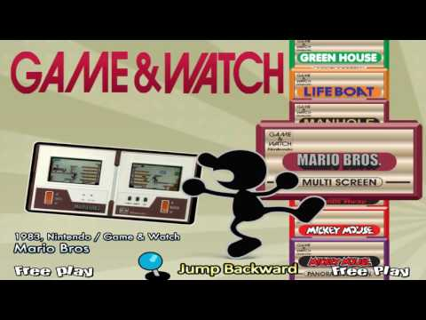Game & Watch HyperSpin tester by Kobi Uno