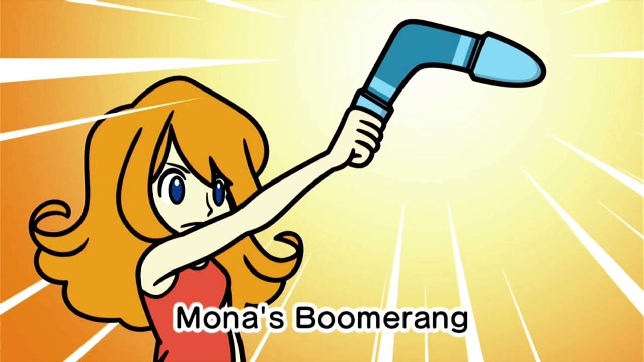 """WarioWare Get It Together! - Mona Story Mode That's Life """"Her Pet Mess up Mona House"""""""