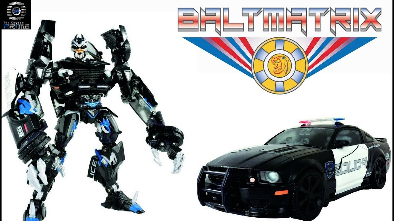 Transformers Movie MPM-5 MPM-05 Barricade police car in Stock