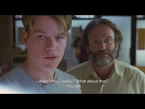 Good Will Hunting - Painting Scene
