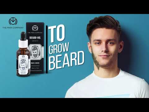 Almond & Thyme Beard Growth Oil by The Man Company | Male Grooming Products | Men's Fashion