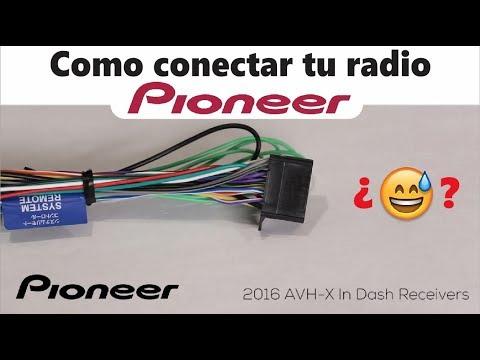 Audio Cable Wiring Diagram Como Conectar Tu Radio Pioneer Youtube