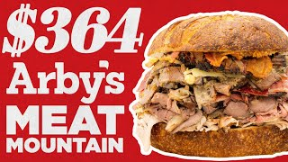 $364 Arby's Meat Mountain | Fancy Fast Food | Mythical Kitchen