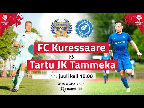 Kuressaare FC Tammeka Tartu Goals And Highlights