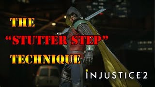 Injustice 2 - Showcasing the Stutter Step Technique!