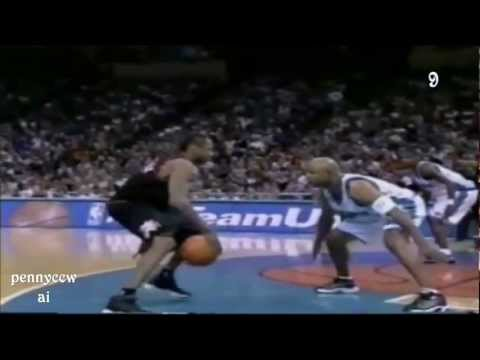 Allen Iverson Top 10 crossover on David Wesley