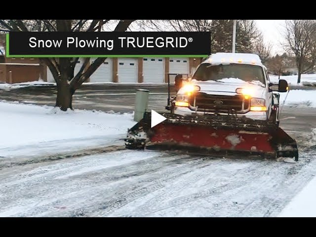 Snow Plowing TRUEGRID