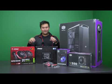 HOW TO BUILD A PC IN 20 MINUTES! #YesWeBuild