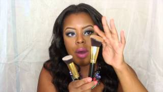 bh cosmetics 10pc sculpt and blend brush set review