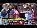 Nate Robinson vs The REAL UNCLE DREW Gets HEATED at The Big 3!! 38 Y/O J-Rich POSTERIZES DEFENDER!