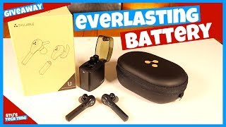 GIVEAWAY! The Everlasting Wireless Earbud Battery  - Syllable D9x Pro Earbuds