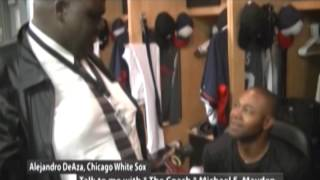 ALEJANDRO DeAZA, CHICAGO WHITE SOX & COACH MAYDEN