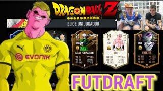 FIFA Y DRAGON BALL Z! FUT DRAFT con JUANLUDBZ