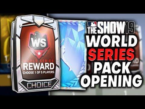World Series Pack Opening! 3 Diamonds! MLB The Show 19 Diamond Dynasty