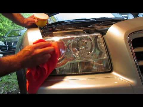 Simoniz headlight restoration kit review