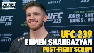 UFC 239: Edmen Shahbazyan In No Rush, But Aims To Be Youngest UFC Champion - MMA Fighting