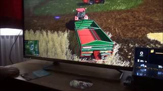 The Funky Farmer plays Farming Simulator for the first time. Part 1