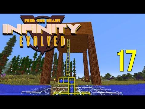 Minecraft FTB Infinity Evolved Ep: 17 - Aqueous Aqua Maker [1080p60fps]