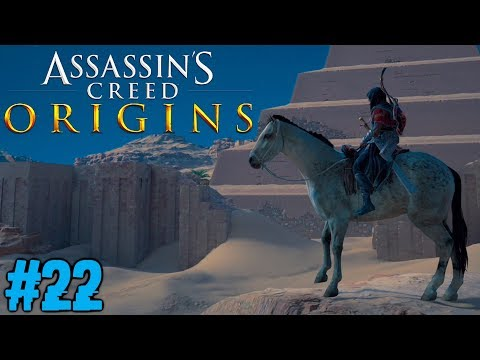 MITTEN IN DER NACHT !! Assassins Creed Origins #22 [FACECAM]