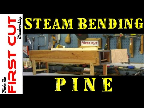 Steam Bending Wood - Pine