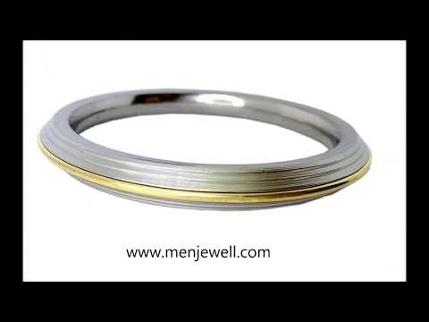 Latest Jewellery Design Collection Kada for men collection by menjewell.com from YouTube · Duration:  52 seconds