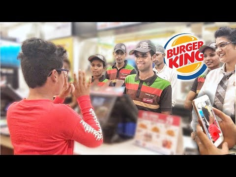 EPIC MCDONALDS RAP IN BURGER KING! **LIT REACTION** thumbnail