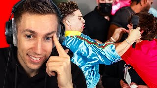 Sidemen React to YouTubers vs Tik Tokers Press Conference
