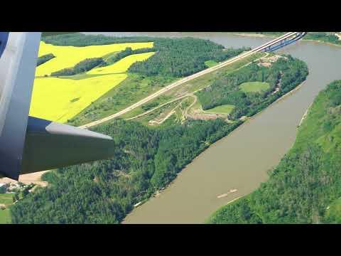 Flying Into Edmonton International Airport