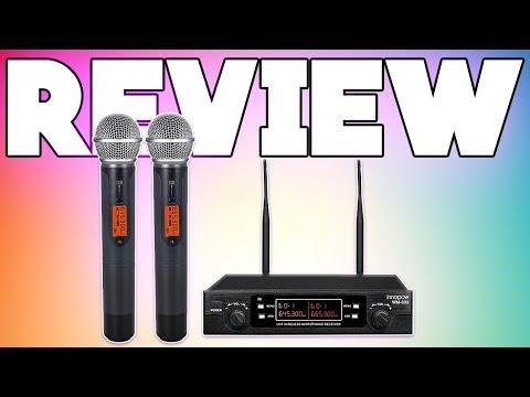 Innopow Dual wireless microphone review!