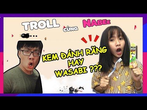 Kem Trà Xanh hay Wasabi - Buổi sáng tốt lành của Kero || Troll cùng Nabee