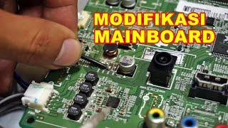 Modifikasi MainBoard TV Mati VLOG83